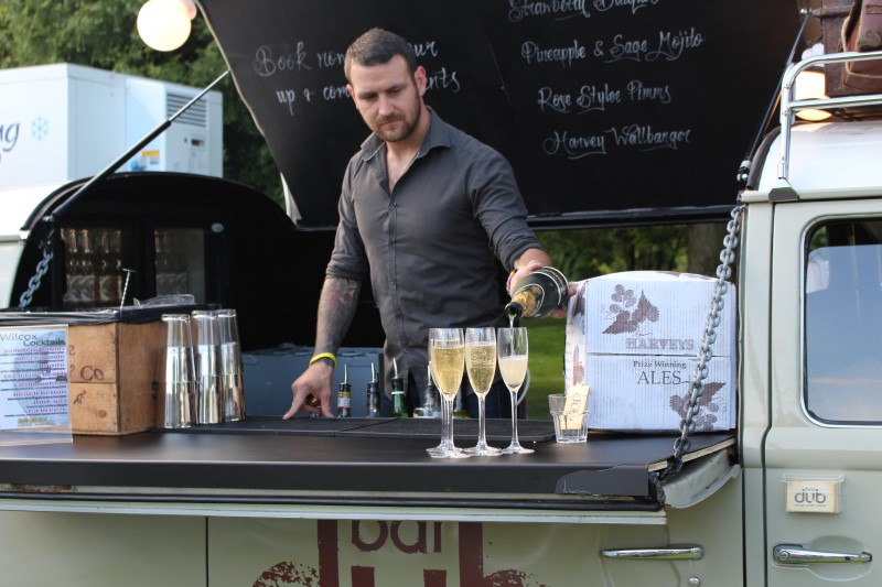 Our talented bar staff will accompany the bar when you hire it out