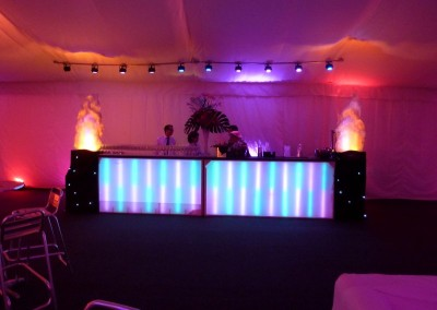 Hire cocktail bar and staff from Kent and Sussex