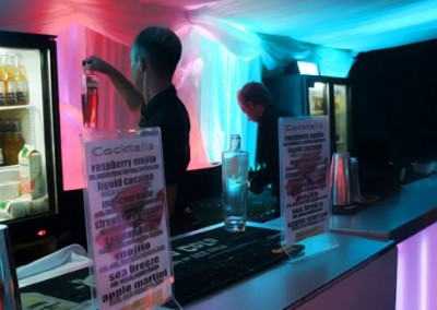 bar hire in London easy transportable