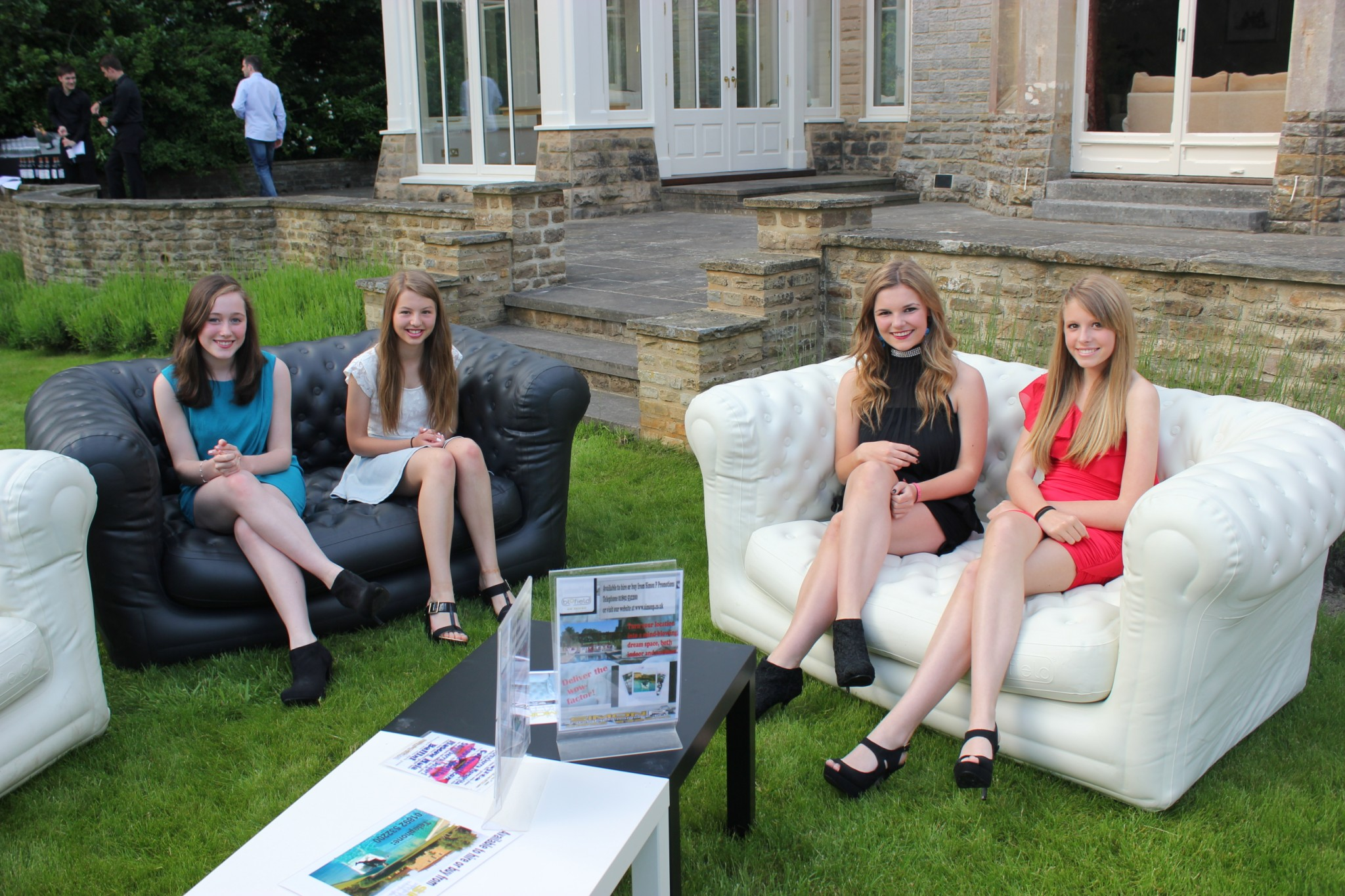 inflatable sofas for hire in Kent