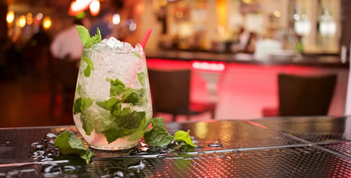 Mojito Cocktail at a bar for a party or event