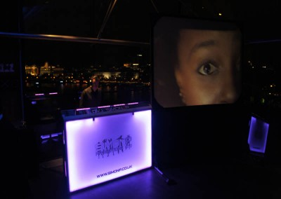 Video DJ set up @ The OXO Tower London