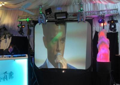 Standard Video Disco screens