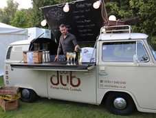 Dub cocktail bar for event or party hire