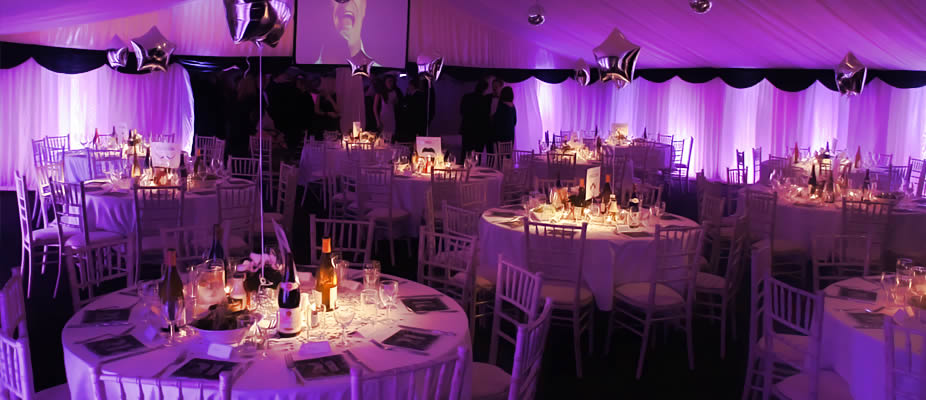Hire marquee accessories