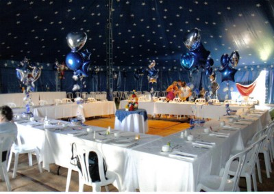 Big Top Interior tent