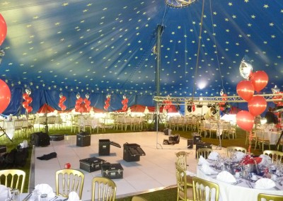 Big Top Set up