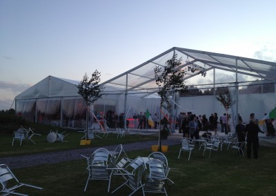 Kent marquee hire framed
