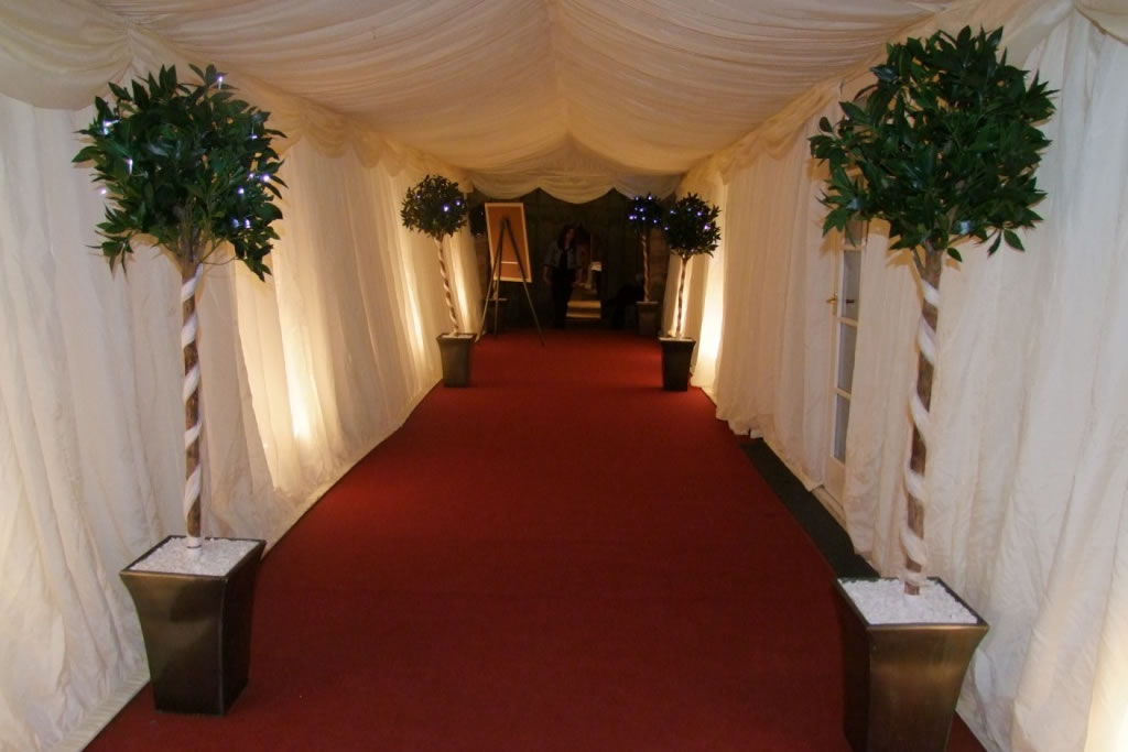Awnings Amp Entrance Walkway Simon P Parties Amp Events