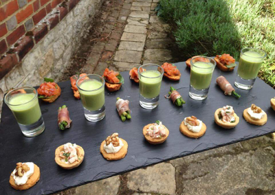 canapes for event or party