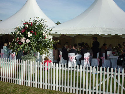 Beautiful Wedding reception in Surrey