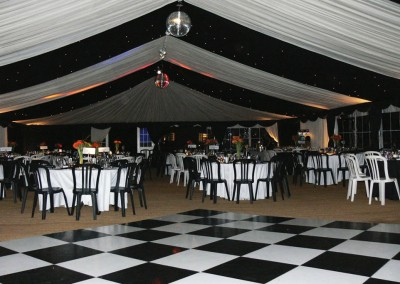 Black & White Dance Floor