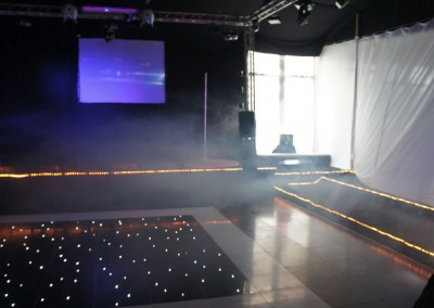 Wedding dance floor hire event venue