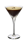 Russian Standard Vodka, coffee liqueur and a shot of espresso with cubed ice, strain and serve in a martini glass with coffee bean garnish