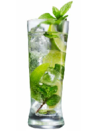 Golden Rum with sugar syrup, fresh limes & fresh mint muddled over ice and topped with Champagne.