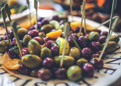 olives, food, catering, party, event