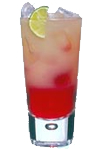 Russian Standard Vodka, cranberry & grapefruit juice. Served in a high ball glass with a lime slice